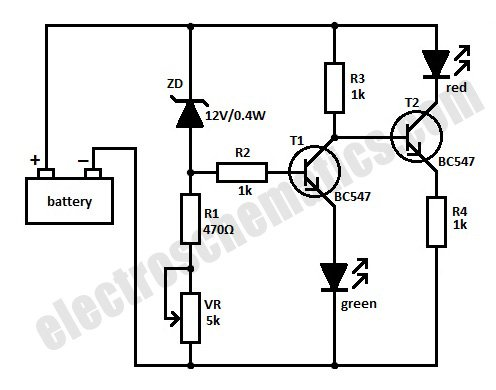 Battery Level Monitor Circuits Power Supply Circuit