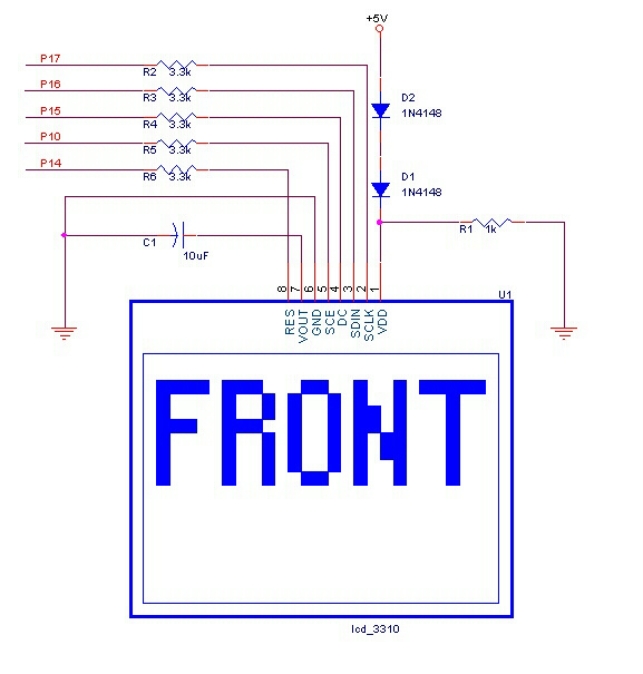 Sine Wave Display On Nokia 3310 Lcd - Led And Light Circuit - Circuit Diagram