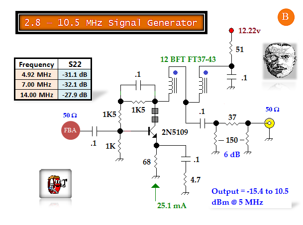 2 8 10 5 mhz signal generator 3 power supply circuit. Black Bedroom Furniture Sets. Home Design Ideas
