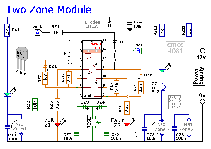 Buick electric antenna circuit besides Charger circuit  posed of the BQ2000 likewise TEANA A33 EL NATSNissan Anti theft System Circuit moreover Two Zone Expansion Module furthermore Sansui Sv 3215 Lcd Tv Power Supply. on remote control circuit diagram
