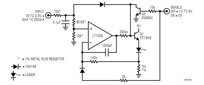 basic current source - power supply circuit - circuit diagram