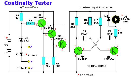 Continuity Tester, Low-Voltage - Measuring_and_Test ...
