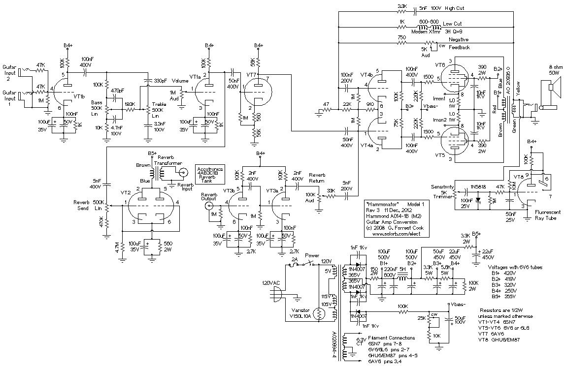 Organ guitar effects schematic electrical work wiring diagram hammonator organ to guitar amp conversion basic circuit circuit rh seekic com dual op amp guitar effects schematics guitar effects schematics diagrams cheapraybanclubmaster Gallery