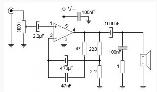 10W  lifier for portable cd players moreover 6vdc To 12vdc Converter Circuit besides KA2206B likewise Circuits datasheetdir   266 SH7263 Pinout also 12w Audio Power  lifier Circuit Based On Tda1020. on 10w audio amplifier circuit