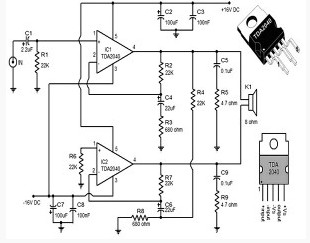 Car audio  lifiers likewise 220v Blinking Led Circuit moreover Circuito  lificadortda7375 as well One Transistor Pocket Radio Jul 1960 Popular Electronics as well lificador De Audio LM386. on audio capacitor