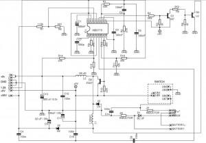 Sega Game Gear Power supply - Power_Supply_Circuit - Circuit