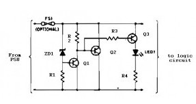 Logic overvoltage protection on zener diode code