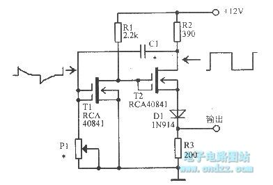 mos fet unsteady state circuit - basic circuit