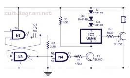 musical bell with touch switch basic_circuit circuit diagrammusical bell with touch switch