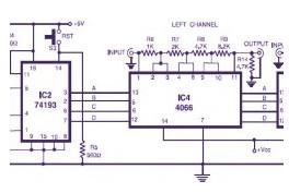 Stereo Digital Volume Control - Control_Circuit - Circuit Diagram