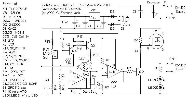 solar tracker circuit diagram pdf