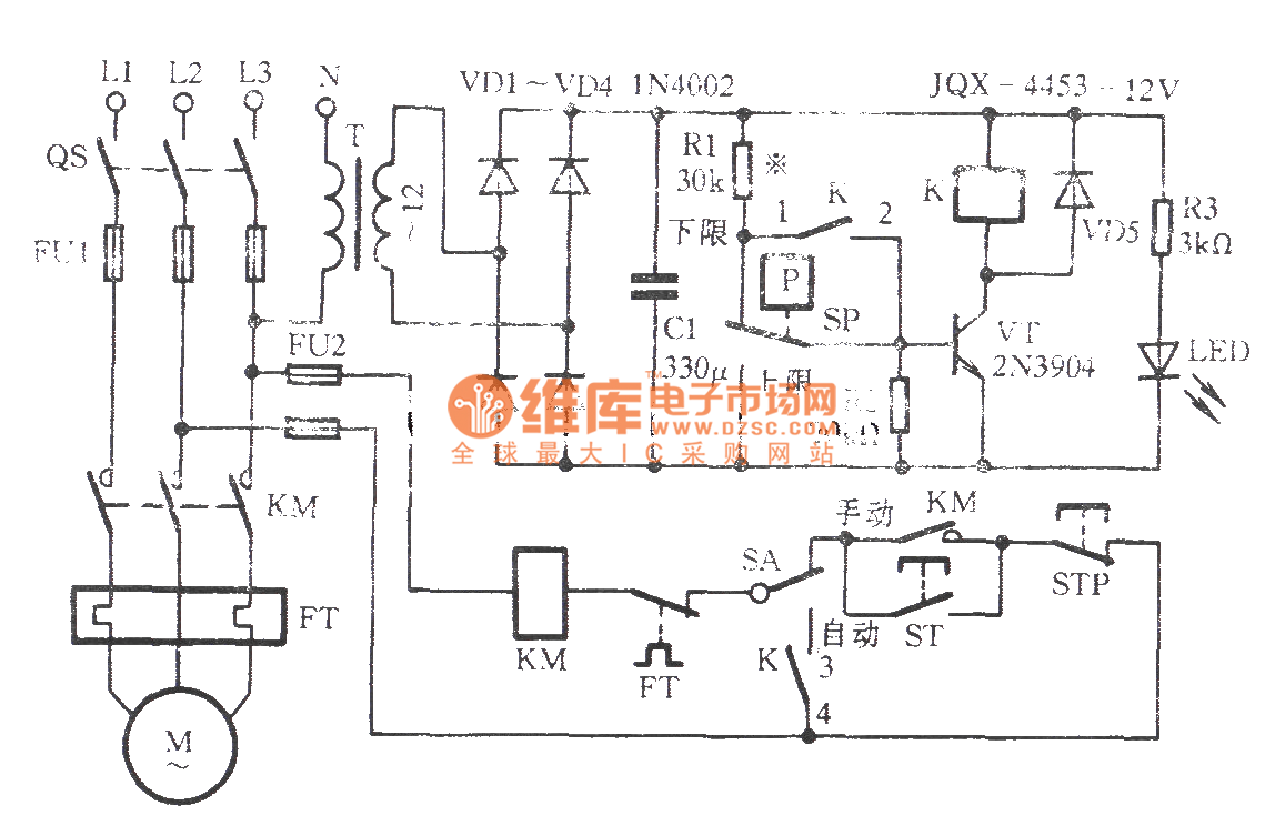 Electrical Contacts Level Electronic Control Circuit Digitaltheremin Basiccircuit Diagram Seekiccom