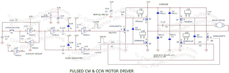 Alternating Cw  U0026 Ccw Motor Driver