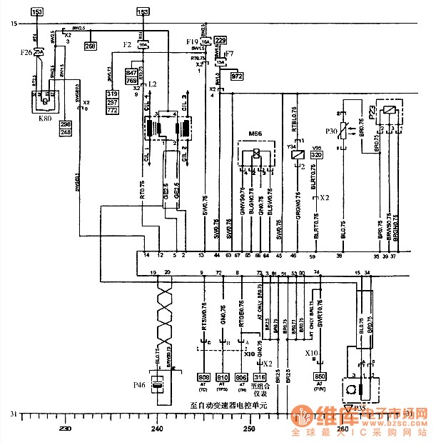 sail engine circuit - basic circuit