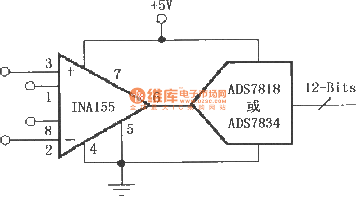 configured ina155  156 directly driven by a capacitive