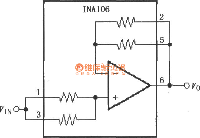 Gain 11 Of Precision Buffer Circuitina106 Amplifiercircuit