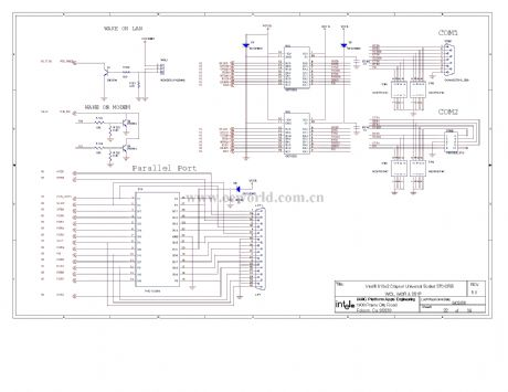 810 computer motherboard circuit diagram 22