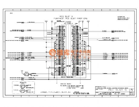 875p computer motherboard circuit diagram 044