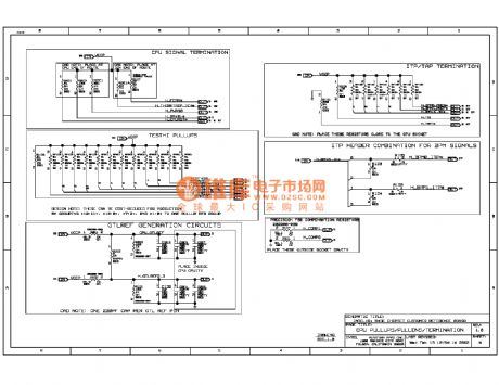 845E computer motherboard circuit diagram 06