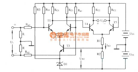 index 53 amplifier circuit circuit diagram seekic comtwo level differential amplifier circuit