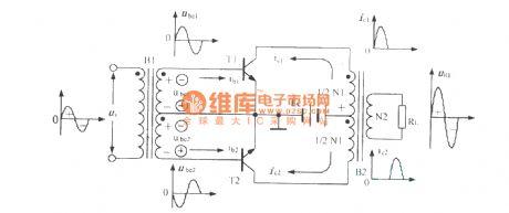 index 53 amplifier circuit circuit diagram seekic compush pull power amplifier circuit