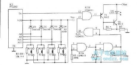 40kHz carrier signal oscillation circuit for infrared remote control