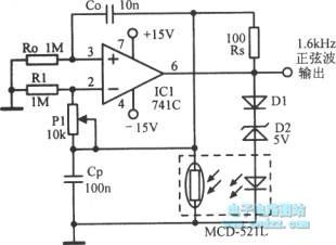 The self-excited equivalent inductance RC oscillator