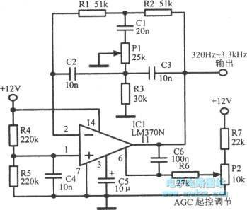 Double-T RC oscillator - Oscillator_Circuit - Signal_Processing