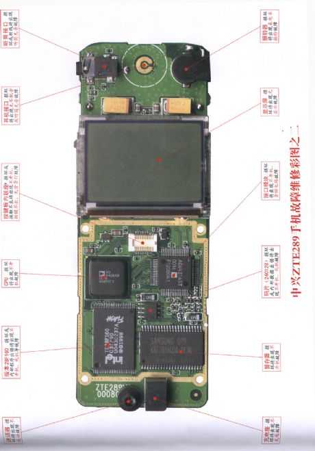 ZTE ZTE289 mobile phone repairing diagram 2