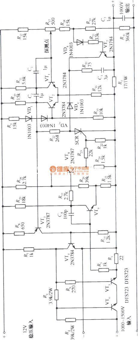 index 258 - power supply circuit - circuit diagram
