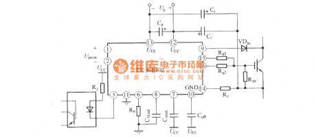 Ka959 Igbt Driver Functional Block Diagram Basiccircuit Circuit