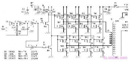500w inverter power supply circuit circuit diagram. Black Bedroom Furniture Sets. Home Design Ideas