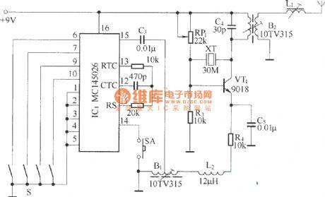 Index 10 - Remote Control Circuit - Circuit Diagram - SeekIC.com on drone accessories, drone parts diagram, drone tools,