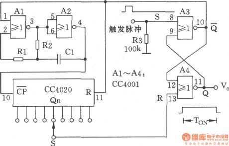 index 52 oscillator circuit signal processing circuit diagramnc monostable multivibrator circuit