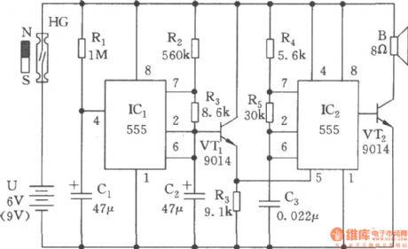 index 52 oscillator circuit signal processing circuit diagramthe multivibrator circuit with variable pitch