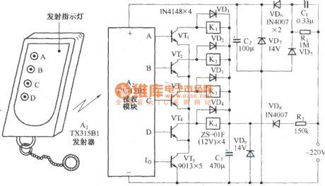 index 444 circuit diagram seekic comfour way remote control ac switching circuit diagram