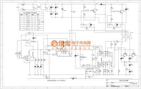 Intelligent pulse electric bicycle charger principle diagram