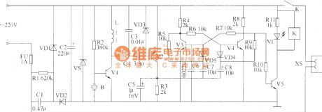Sub-ultrasonic remote control switch circuit 1