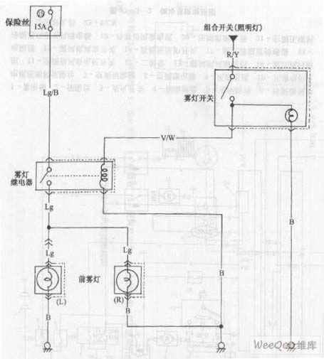 index 105 - automotive circuit - circuit diagram