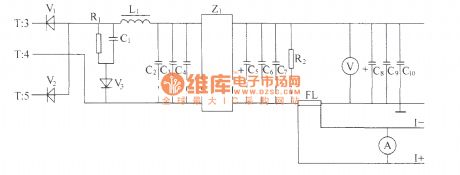 DZW75-48/5050II high frequency rectifier filter circuit