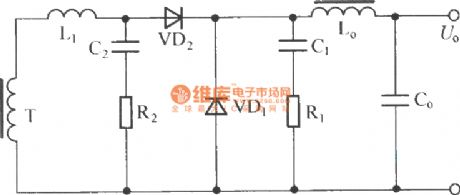 Forward converter consists of two RC circuit