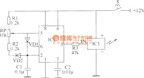Wireless remote control switch circuit diagram 1