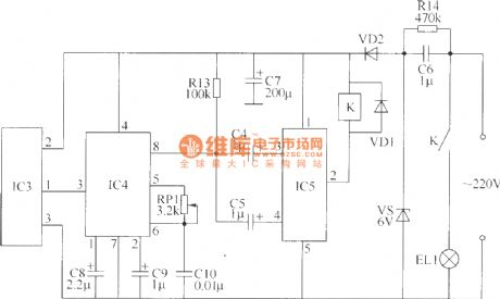 Wireless remote control switch circuit 4