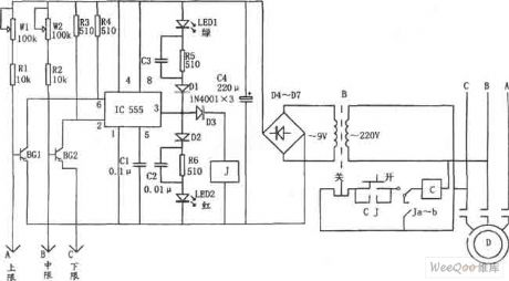 index 2 automatic control control circuit circuit diagramwater level automatic control circuit consisting of 555