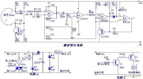 index 363 basic circuit circuit diagram seekic comdoppler microwave automatic switch circuit