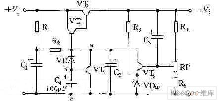 Switch power supply start-up circuit with the transistor