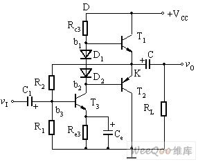 Single Power Complementary and Symmetry Power Amplifier Circuit