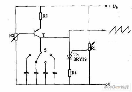 index 1761 circuit diagram seekic comcircuit of sawtooth wave generator with constant current charging