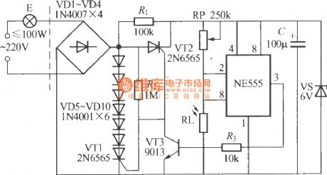 index 62 led and light circuit circuit diagram seekic comlight control street lamp circuit using ne555(2)
