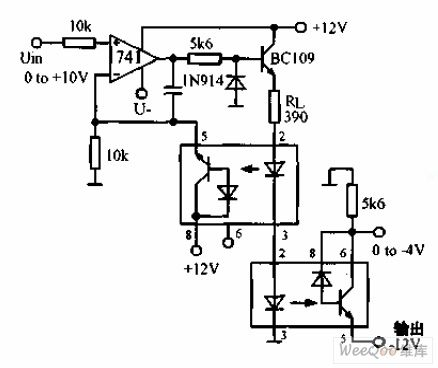 Dc Dc Optoelectronic Isolator Circuit